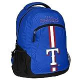 MLB Texas Rangersaction Backpack, Texas Rangers, One Size
