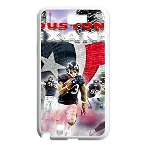 Houston Texans Samsung Galaxy N2 7100 Cell Phone Case White DIY gift zhm004_8686374