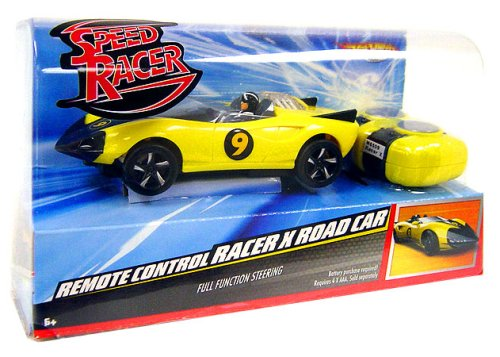 Mattel: HOT WHEELS R/C Speed Racer Racer X Road Car Radio Control Vehicle -