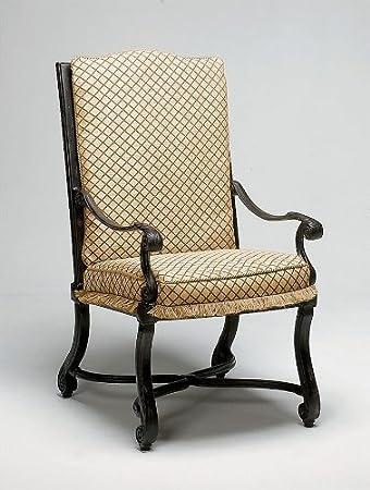 Woodard Landgrave 31168C Villa Arm Chair With Cushions
