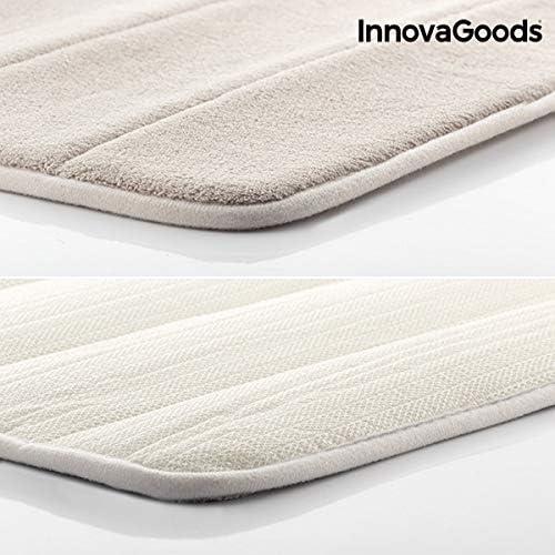 InnovaGoods Tapis de Bain visco/élastique Beige Taille