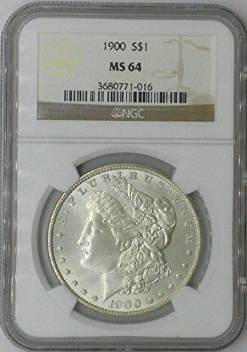 1900 P Morgan $1 MS64 NGC Silver Dollar Old US Coin 90% Silver