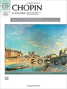 24 Etudes (Book and CD) (Alfred Masterwork Library)