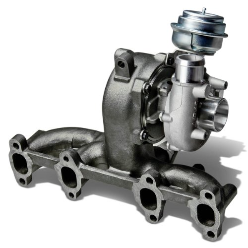 For VW Beetle/Golf/Jetta/Passat GT17 Diesel Turbocharger with Manifold and Wastegate Turbine A/R .61 (2002 Vw Jetta Diesel)