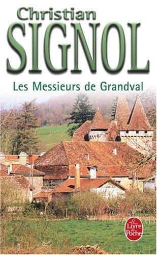 Les Messieurs De Grandval Le Livre De Poche French