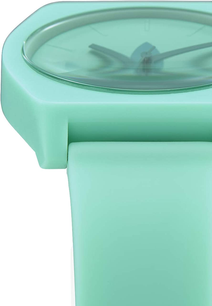 adidas Watches Process_SP1. Silicone Strap, 20mm Width (38 mm). Trefoil / Prism Mint