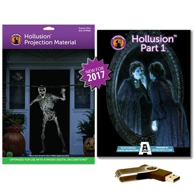 AtmosFearFX HOLLUSION PART 1 Compilation Video & Hollusion (LG) Projection Screen. Includes effects from Bone Chillers, Ghostly Apparitions, Macabre Manor and Phantasm ()