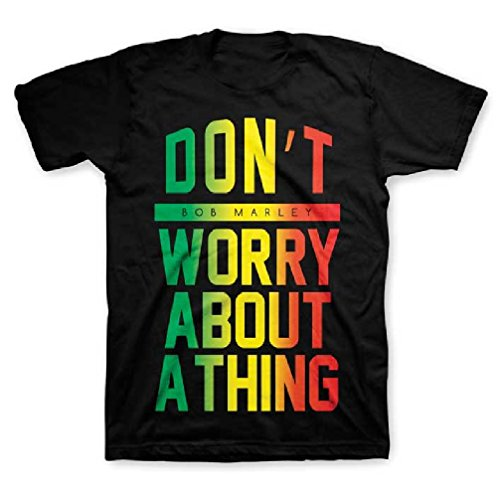 Zion Rootswear Bob Marley Don't Worry About A Thing Little Boy's T-Shirt, 2T ()