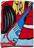 Disney Cars Team 95 Super Soft Toddler Blanket, Blue/Red