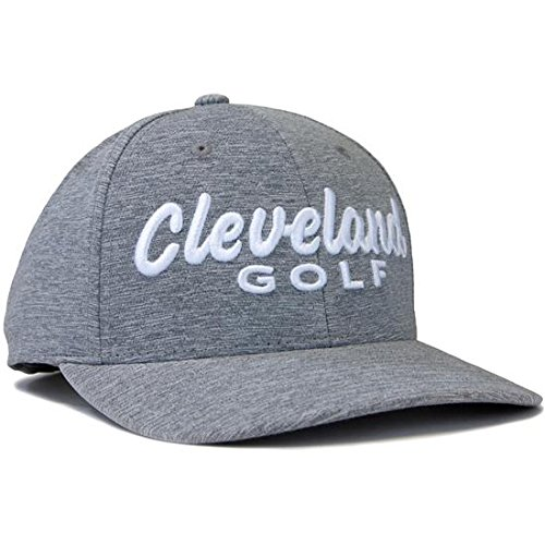 NEW Cleveland Golf CG Tech Heather Snap Back Cap Adjustable - (Cleveland Golf Cap)