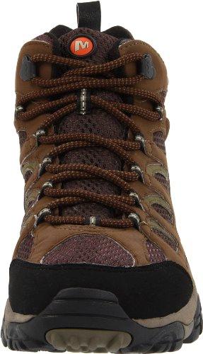 de Marron Gore Merrell Mid Chaussures randonnée Hommes Moab Tex xqw7fEX8