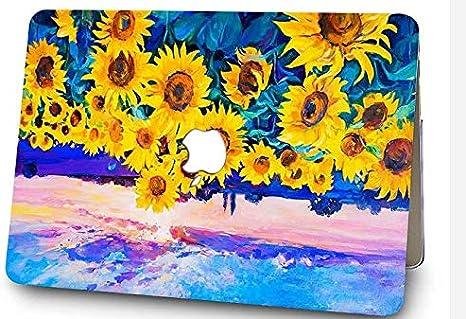 mod/èle A1369//1466 Coque rigide en plastique SAYAKE Antifinger pour MacBook Air 13 pouces Lotus