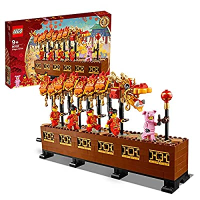LEGO 80102 Chinese New Year Dragon Dance 2020 Asia Exclusive: Toys & Games