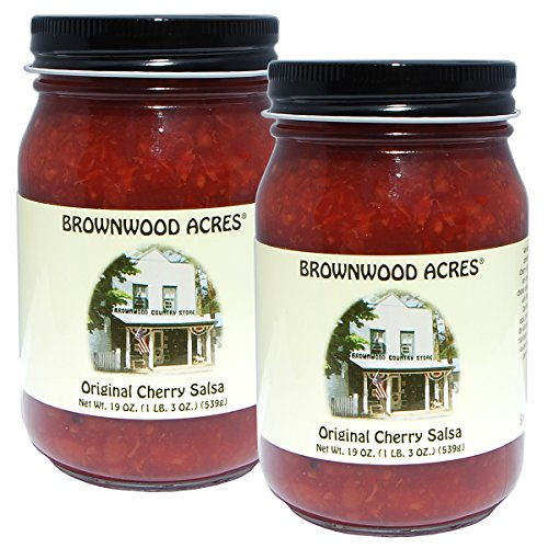 Brownwood Acres Michigan Cherry Salsa - 2 PACK - Shipping Included ()
