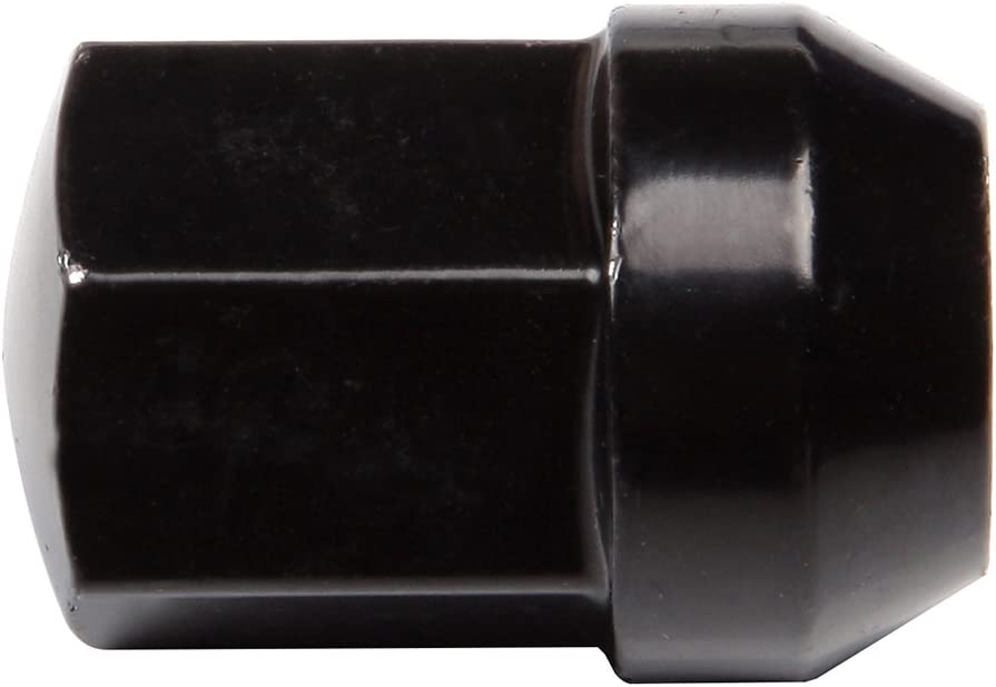 Aintier 20pcs Black Chrome Wheel Lug Nuts Fit for Ram 1500 Dodge Durango 2012-2016 14x1.5 Thread Size Close end