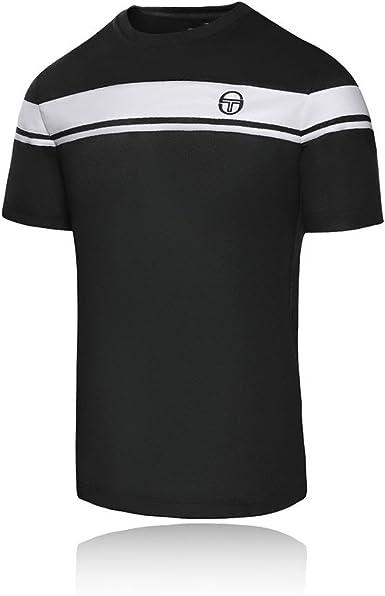 Ladies Branded Sergio Tacchini Lightweight Tennis T Shirt Sports Top