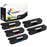 Smart Print Supplies 5 Pack TN339 Super High Yield Compatible Toner Cartridge TN-339 339BK 339C 339M 339Y Replacement for Brother HL-L9200, MFC-L9550 Laser Printers (Black, Cyan, Magenta, Yellow)