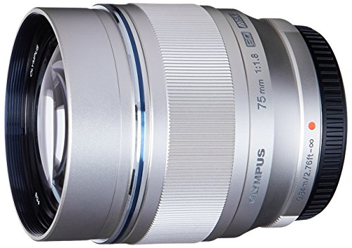 TAL ED 75mm f1.8 (Silver) Lens for Olympus and Panasonic Micro 4/3 Cameras (Olympus Digital Slr)