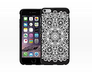Abstract Circle Lace Pattern - Hard Plastic Case for Iphone 6