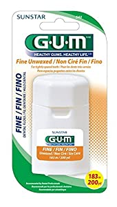 GUM fine unwaxed 200yds with dispenser