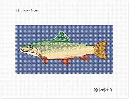 pepita Rainbow Trout Needlepoint Kit