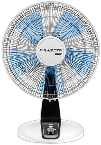Rowenta Tischventilator Turbo Silence Extreme, Durchmesser 30 cm, superleise, grau / anthrazit, VU2630