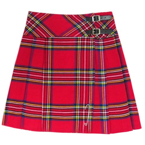 Tartanista Royal Stewart Tartan 20 inch Kilt Skirt - Size US 8/W30