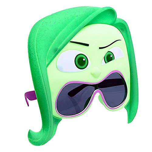 Costume Sunglasses Inside Out Disgust Sun-Staches Party Favors UV400