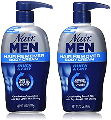 Amazon Com Nair Men Hair Removal Body Cream 13 Oz Pack Of 2