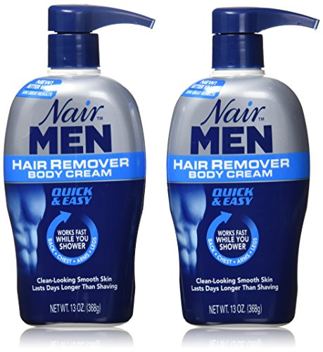 Nair Men Hair Removal Body Cream 13 oz (Pack of - Hair Back Removal Male