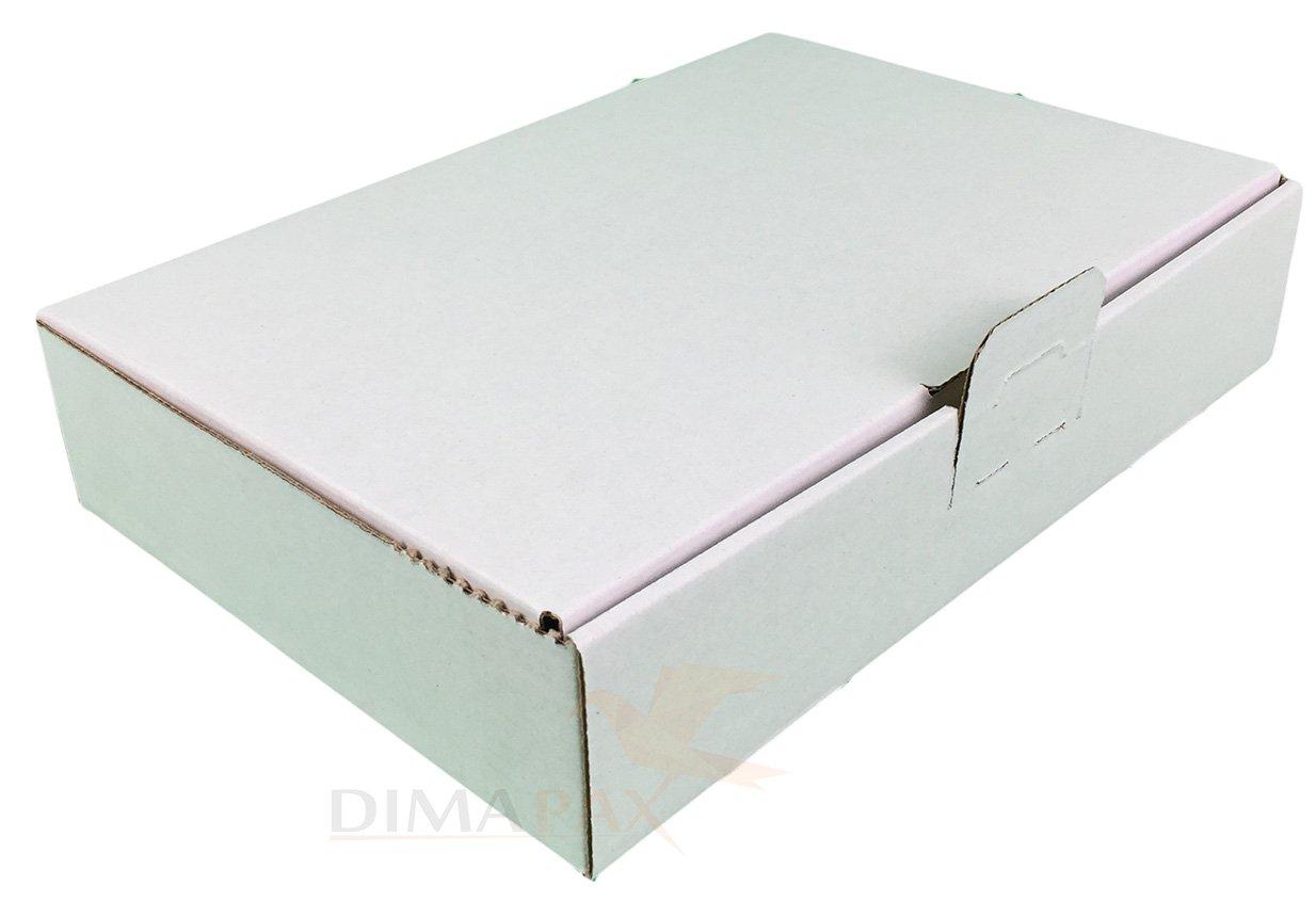 25 Maxibrief Kartons MB1 weiß 160 x110 x 50 mm Schachtel DHL Post Warensendung