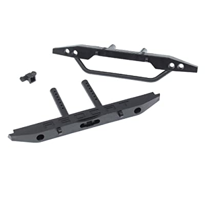 Redcat Racing Rer11326 Bumper Set (F/R), Black For Everest GEN8 Scout II: Toys & Games