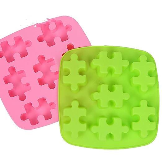 MTTLS Puzzle de silicona molde horno de microondas para ...