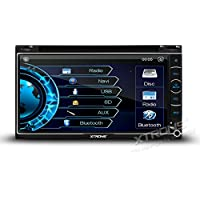 XTRONS® Double 2 Din 6.95 inch Capacitive Touch Screen Car Stereo In Dash DVD Player Radio GPS Bluetooth RDS Ipod Virtual CDC