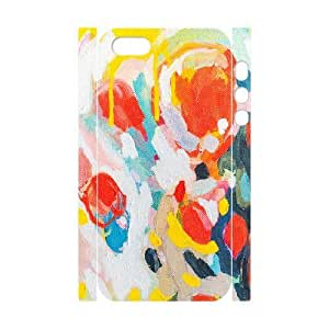 3D Doah Color Study No. 6 IPhone 5,5S Case, Iphone 5s Cases for Girls Protective {White} BY BYC DESIGNS