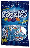 Concord Confections (1) bag Razzles 16 Individual Mini Packets First It's Candy.Then It's Gum Assorted Fruit Flavors 1.94 oz