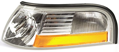 Dorman 1650250 Ford / Mercury Front Driver Side Parking / Turn Signal Light - Mercury Marker Side