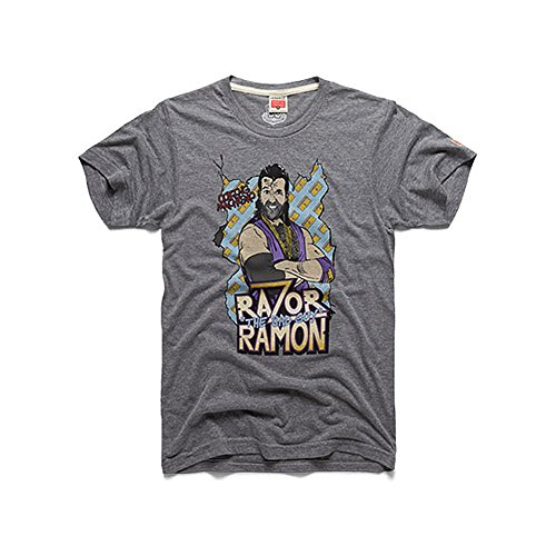 WWE Authentic Wear WWE Razor Ramon Homage T-Shirt Yellow - Razor Wwf Ramon