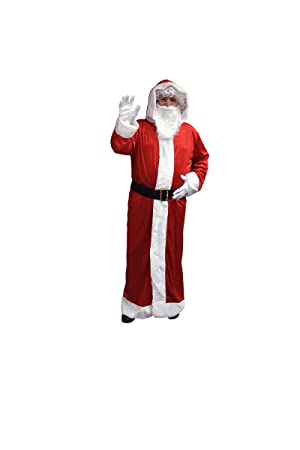 e37cab7075f18 AEC - NO2257 - Costume pere noel manteau effet velours 2 pieces xl - 100%