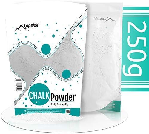 TOPSIDE 250g Chalk Powder - reines Magnesiumcarbonat Kletterkreide Magnesia-Pulver
