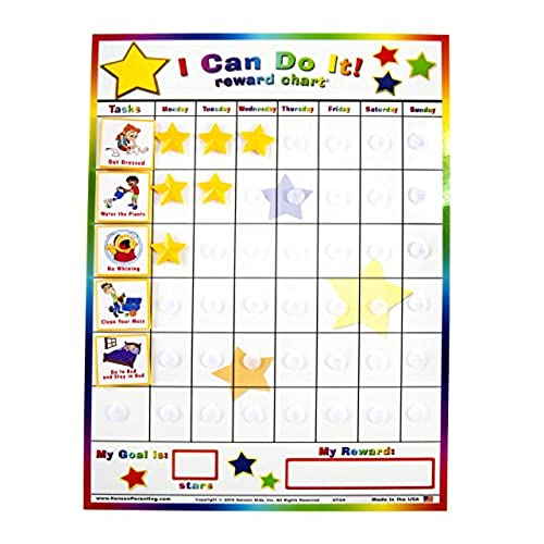 behavior chart for kids  amazon com