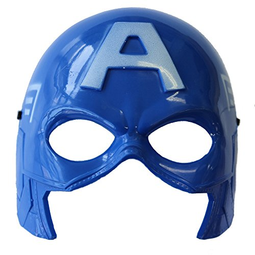 Starwars Avengers Hulk Ironman Spiderman Batman Transformer Plastic Mask (Captain America)