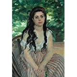 The high quality polyster Canvas of oil painting 'Auguste Renoir-Summer,1868' ,size: 8x12 inch / 20x30 cm ,this Beautiful Art Decorative Canvas Prints is fit for Study decor and Home decor and Gifts