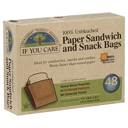 If You Care – Bolsas Aperitivo y Sandwich – Papel – Sin ...