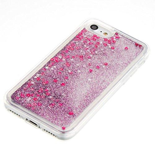 Für Apple iPhone 7 (4,7 Zoll) Hülle ZeWoo® TPU Schutzhülle Silikon Tasche Case Cover - GS127 / lila