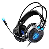 Yingui 7.1 Gaming Headset with Microphone Headphones - for Computers - 7 Colors can be Controlled
