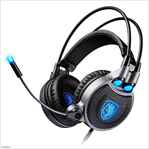 Yingui 7.1 Gaming Headset with Microphone Headphones - for Computers - 7 Colors can be Controlled by Yingui