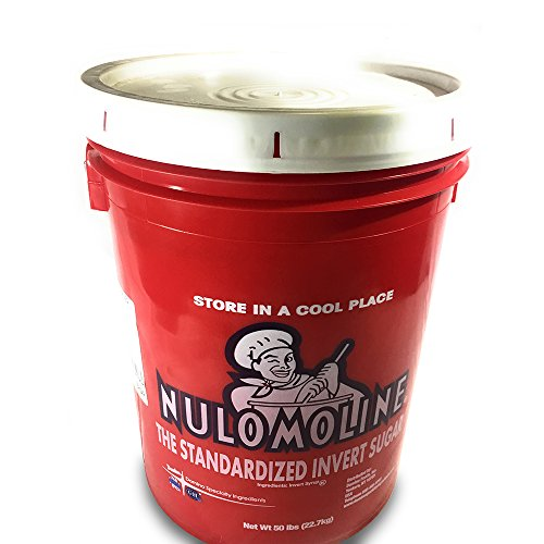 Nulomoline Congealed Invert Sugar for Food and Medicine, Organic, Kosher Certified - 50 lb by Nulomoline