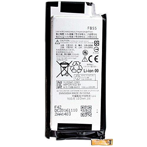 Price comparison product image CBK Authentic NEW 3550mAh FB55 SNN5958A Battery for Motorola XT1585 Droid Turbo 2 XT1581