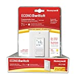 Honeywell Econoswitch RPLS740B 7-Day Solar Time Table Programmable Switch for Lights and Motors